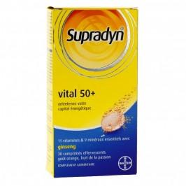SUPRADYNE VITAL 50+ B/30 COMP EFFERV
