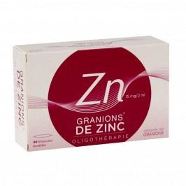 GRANIONS ZN S BUV B/30AMP/2ML GROSSISTE