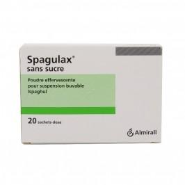 Spagulax Sans Sucre Poudre Effervescente Pour Suspension Buvable 20 Sachets-Doses