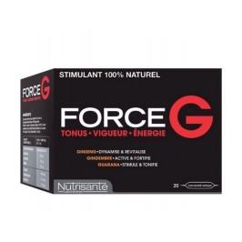 Nutrisanté Force G Stimulant 20 Ampoules de 10ml