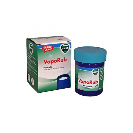 vicks vaporub pommade 100g pharmacie anglo fran aise. Black Bedroom Furniture Sets. Home Design Ideas