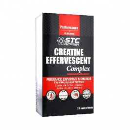 STC Nutrition Créatine Effervescent Complex 2 x 15 Comprimés