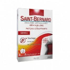 Saint-Bernard Genouillère + Patchs Chauffants Genou 4 Patchs