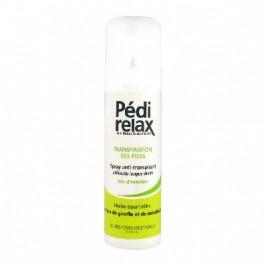 Pédirelax Transpiration Des Pieds Spray Anti-Transpirant 125 ml