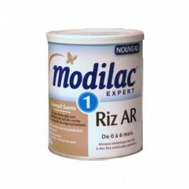 Modilac expert riz AR lait 1er âge 800g