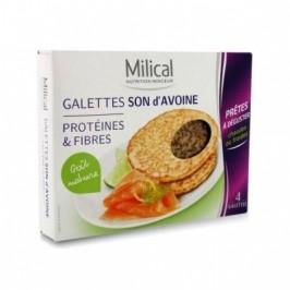Milical galettes son d'avoine goût nature 4 galettes