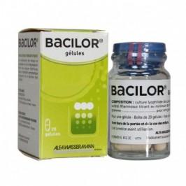 Bacilor 20 gélules levures antidiarrhéiques