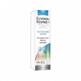 Euvanol Respire+ Nez Bouché Rhume Spray Nasal 20 ml