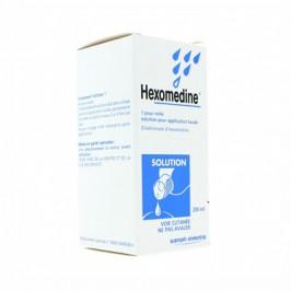 Hexomedine 0,1% Solution 250ml