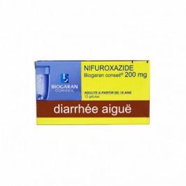Nifuroxazide Biogaran 200mg 12 gélules