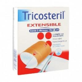 Tricosteril Extensible Bande à Découper 1 M x 8 cm