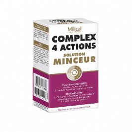 Milical Complex 4 Actions Solution Minceur 56 gélules