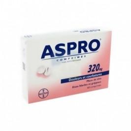 Aspro 320 mg 60 comprimés