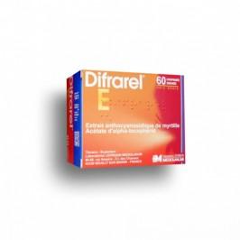 Difrarel E 60 comprimés enrobés