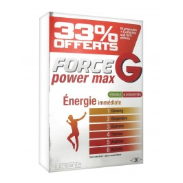Nutrisanté Force G Power Max 20 Ampoules