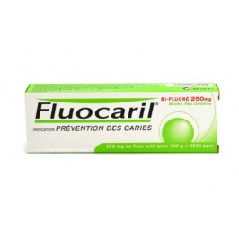 Fluocaril Bi-fluoré 250mg dentifrice 50ml