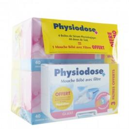 Physiodose 4X40 Unidoses 5Ml + 1 Mouche-Bébé Offert