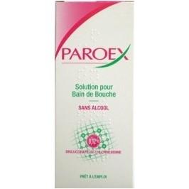 Paroex bain de bouche 0,12% 300ml