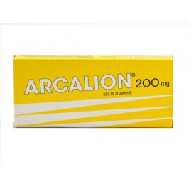 Arcalion 200mg 60 comprimés enrobés