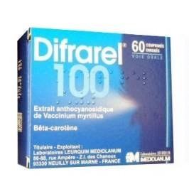 Difrarel 100mg 60 comprimés
