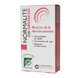 Codifra normalité 1000 grossesse 30 capsules