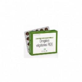 Rex dragées végétales constipation lehning 40 comprimés