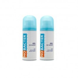 NOBACTER Gel de Rasage - Lot de 2x150ml