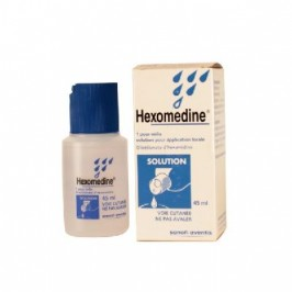Hexomedine 0,1% Solution 45ml