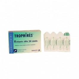 Trophires 8 suppositoires Enfant