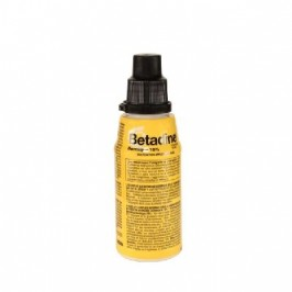 Betadine Dermique 10% solution 125ml
