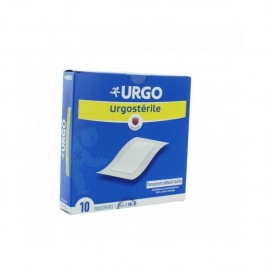 URGOSTERILE 10 PANSEMENTS 10CM X 7 CM