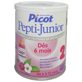 Pepti-Junior 2 lait pour bébés dès 6 mois 460g