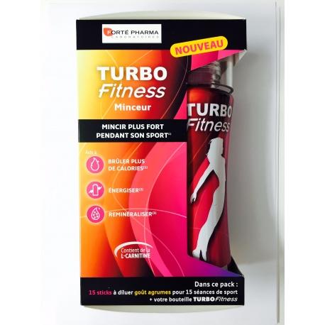 Turbo Fitness Minceur 15 sticks + bouteille