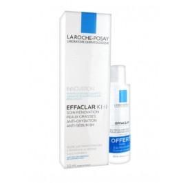 La Roche Posay effaclar K+ 30ml + mini eau micellaire offerte 50ml