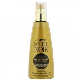 Soleil Noir Spray Huile Sèche Vitaminée Sans Filtre Ultra Bronzante 150ml