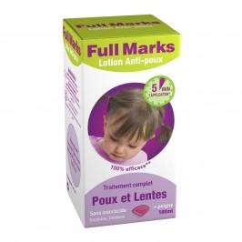 FULL MARKS Lotion Anti-poux 100ml + peigne