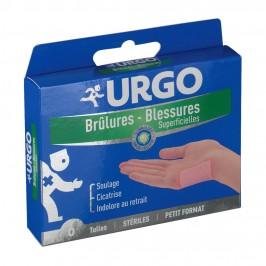 URGO BRULURES TULLE 5X5CM B/6
