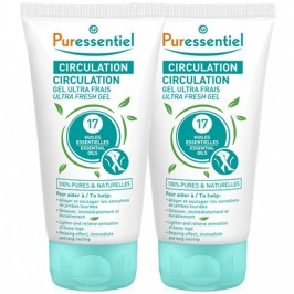 PURESSENTIEL CIRCUL 17HE GEL DUO2*125ML
