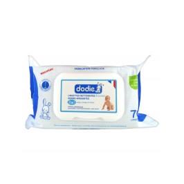Dodie Lingettes Nettoyantes Douceur Dermo-Apaisantes 70 Lingettes