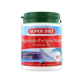 Super Diet Magnésium d'Origine Marine Vitamine B6 90 Comprimés