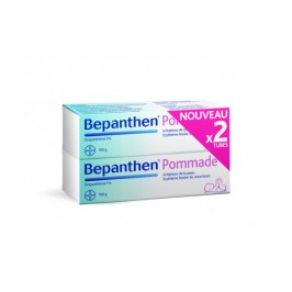 Bepanthen 5% Pommade /100g Lot de 2