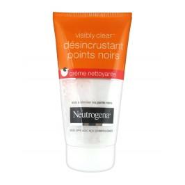 Neutrogena Visibly Clear Désincrustant Points Noirs Crème Nettoyante 150 ml
