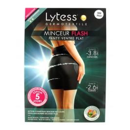 Lytess Dermotextile Minceur Flash Panty Ventre Plat Noir S/M