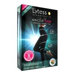 Lytess Dermotextile Minceur Flash Legging Ventre Plat Noir L/XL