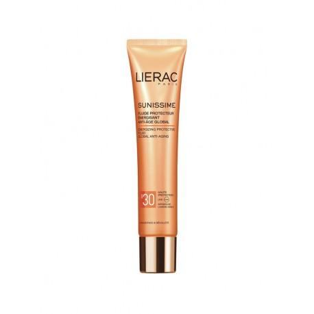Lierac Sunissime Fluide Protecteur Énergisant Anti-Âge Global SPF 30 40 ml