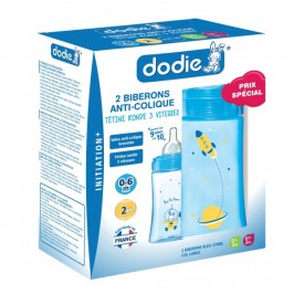 Dodie Coffret biberons X2 initiation + 270 ml