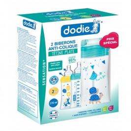 Dodie Coffret biberons X2 sensation+ 270ml