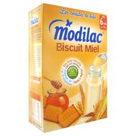 Modilac Biscuit Miel de 6 Mois à 3 Ans 300 g