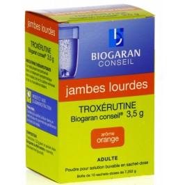 TROXERUTINE BIOGARAN 3,5G PDR SBUV SACH-D