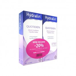 Hydralin quotidien apaisant lot 2x200ml